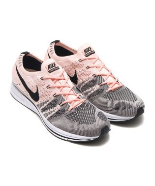 NIKE  FLYKNIT TRAINER  SUNSET TINT/BLACK-WHITE