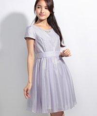 ウエストリボンLadyドレス