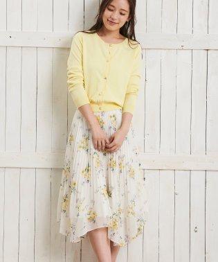 【Ray4月号掲載】デルフィニウムブーケ柄スカート