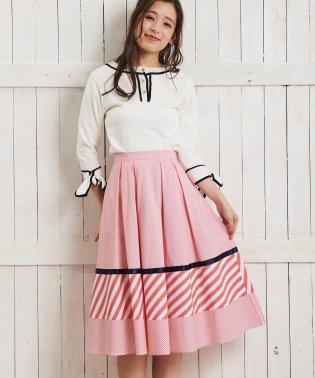【美人百花 5月号掲載/Ray5月号掲載】ミックスパターンスカート