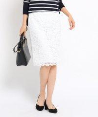 ◆[L]フラワーレーススカート