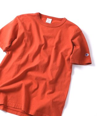 SHIPS JET BLUE×Champion: 別注 made in usa T-1011 カラーTシャツ