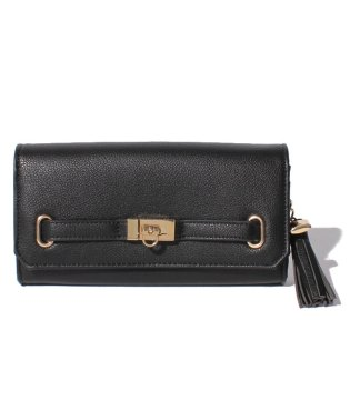 【rienda】 BASIC 5 BELT FLAP LONG WALLET