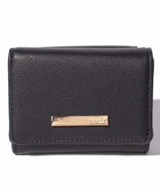 【rienda】 BASIC 5 THREE FOLD ZIP WALLET