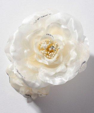 【入学式・卒業式・セレモニー・七五三・結婚式】大輪花のボリュームコサージュ