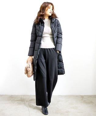 中綿ロングコート 韓国 ファッション レディース あったか おしゃれ かわいい 上品【A/W】【vl-5314】