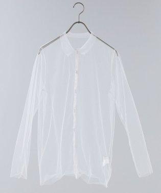 チュールシャツ