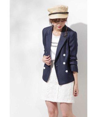 ◆リネンライクジャケット