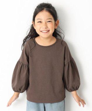 袖バルーン9分袖Tシャツ 女の子