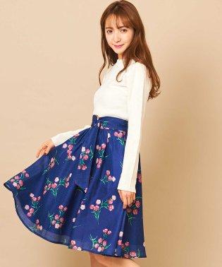 ナデシコプリントスカート