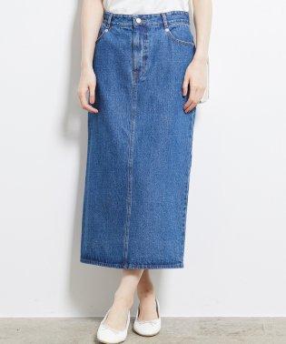 【WEB限定】デニムロングタイトスカート