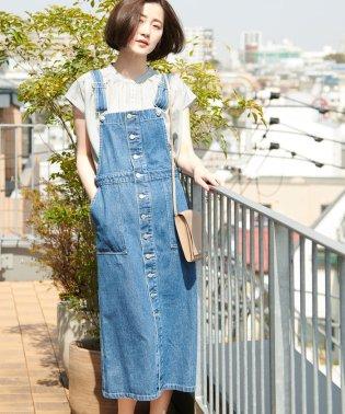【WEB限定】デニムジャンパースカート