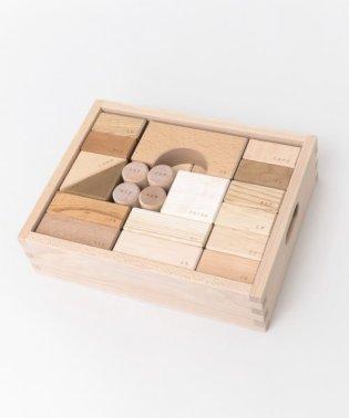 オークヴィレッジ 寄木の積木(木箱入り)