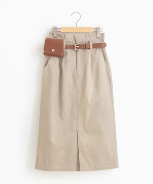 ポーチベルト付スカート