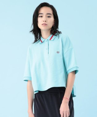 FRED PERRY × Ray BEAMS / 別注 クロップド ポロシャツ