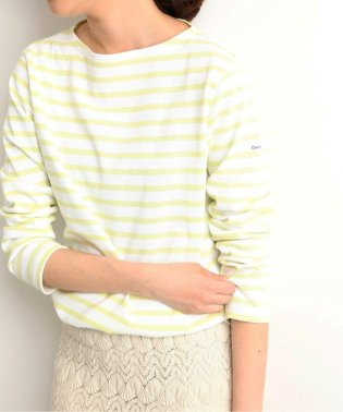 ORCIVAL COTTON LOURD ボーダーカットソー◆