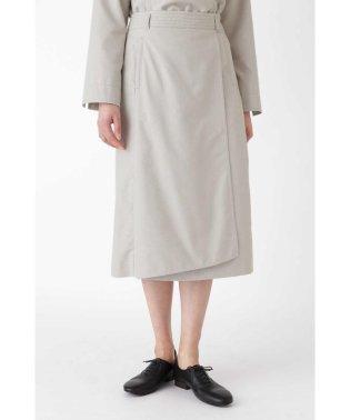 ◆ピンドットジャガードラップ風スカート