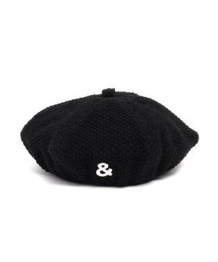 モチーフ付きベレー帽