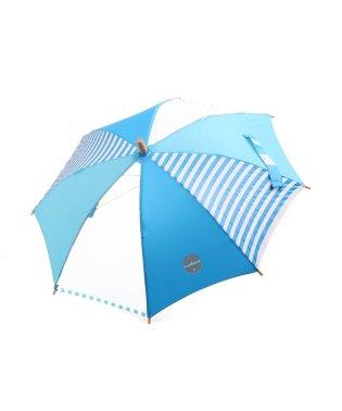 切り替えボーダー柄傘