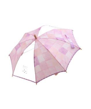 水彩チェック傘