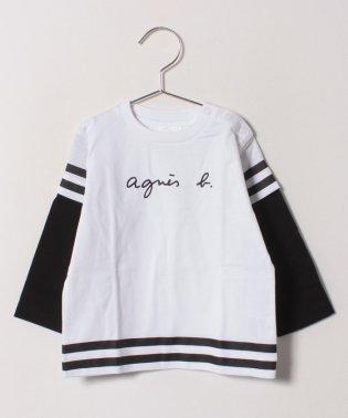 SBZ8 L TS スポーティーロゴTシャツ