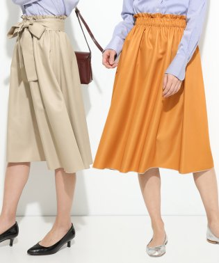 【ドラマ着用】リバーシブルギャザースカート