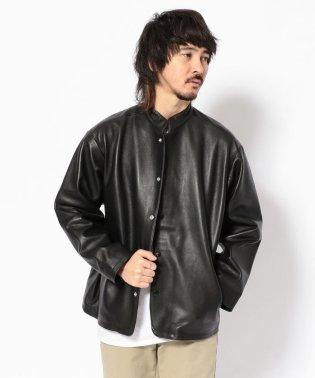 BOHEMIANS/ボヘミアンズ 限定Sheep Leather Stand Jacket/レザージャケット