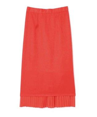 裾プリーツスカート