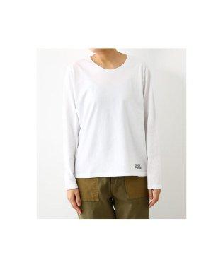 ピグメント Uネック ロングTシャツ
