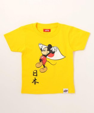 "TEG TEG/テグテグ/MICKY MOUSE ""日本"" Tシャツ"