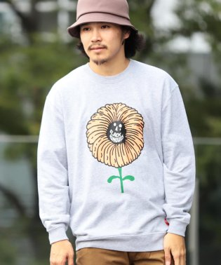 【SPECIAL PRICE】BEAMS T / FLOWER Crewneck Sweatshirt