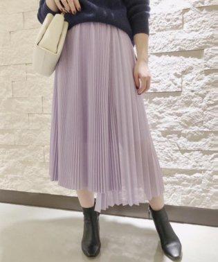 フロントアシメプリーツスカート