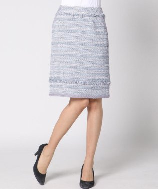 ≪大きいサイズ≫【ニーズ対応】ボーダーミックスファンシースカート