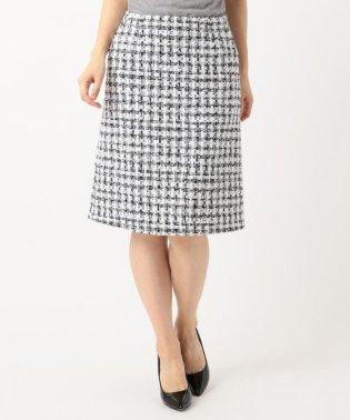 【セットアップ対応】CLALENSON チェックツイード スカート