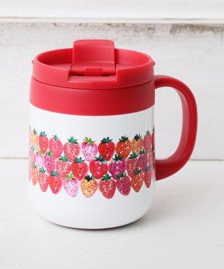 イチゴステンレスマグカップ