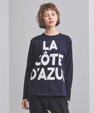 <m's braque(エムズ ブラック)>COTE D プリント Tシャツ