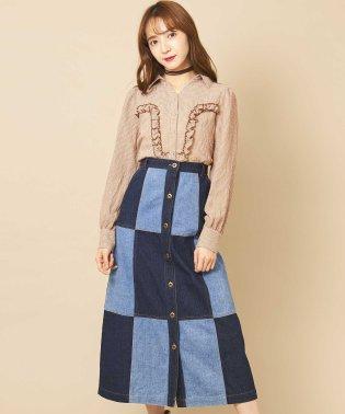 【Ray 4月号掲載】パッチワークマキシスカート