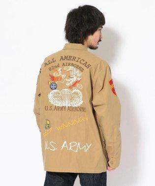 U.S.アーミー ジャングル ファティーグシャツ/U.S.ARMY JUNGLE FATIGUE SHIRT