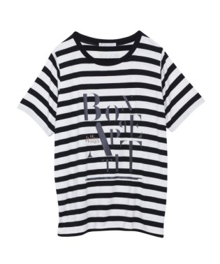 【JoelRobuchon&gelatopique】HOMMEシルクロゴTシャツ