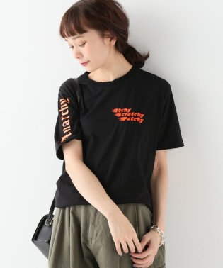 【ITCHY SCRATCHY PATCHY/イッチースクラッチーパッチー】プリントTシャツ:ブラック