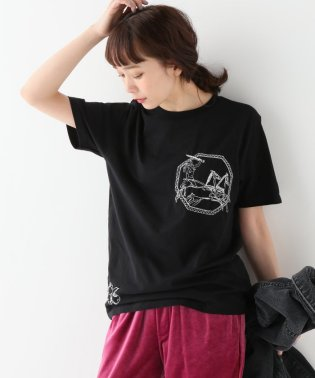 【ITCHY SCRATCHY PATCHY/イッチースクラッチーパッチー】刺繍Tシャツ