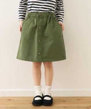 フロントボタンスカート(KIDS)