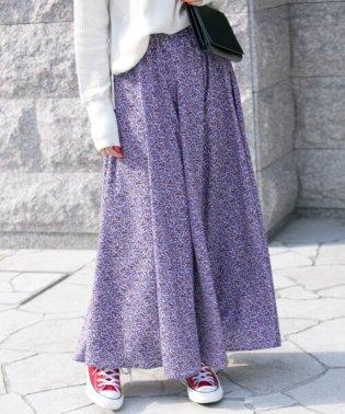 【予約】フローラルプリントスカート