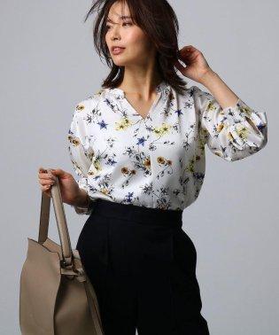 [L]アーバンフラワーシャツ
