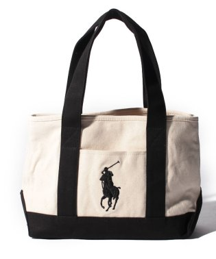 【POLO RALPH LAUREN】School Tote Medium (マグネット開閉)