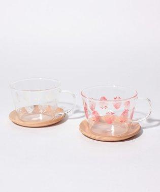 イチゴ耐熱カップ&ソーサーセット