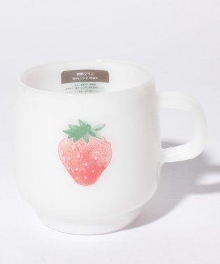 イチゴ耐熱ミルクマグカップ