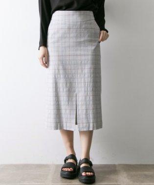 【UR】Arollaチェックタイトスカート