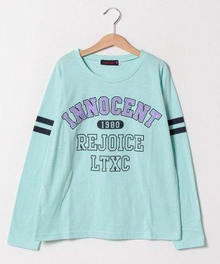 カレッジ風ロゴTシャツ