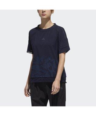 アディダス/レディス/W M4T ファブリックミックスTシャツ